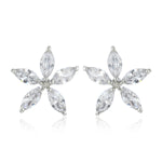 Flower Shaped Stud Earring For Womens