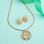 Rosette Pendant Set by Swarovski Elements