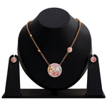 ROSE GALAXY PENDANT SET BY SWAROVSKI ELEMENTS