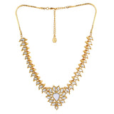 Traditional Gold plated Keri Kundan Necklace