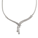Stylish Rhodium plated Classic Medley Necklace