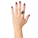 Gardenia Finger Ring