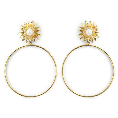 Sunflower Hoops