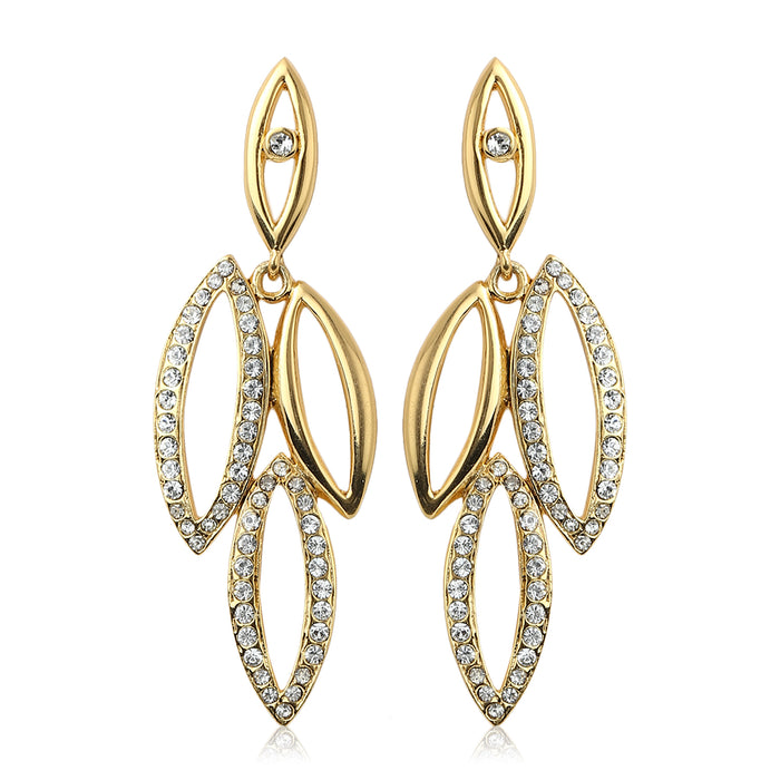 Diamante Stone Earrings
