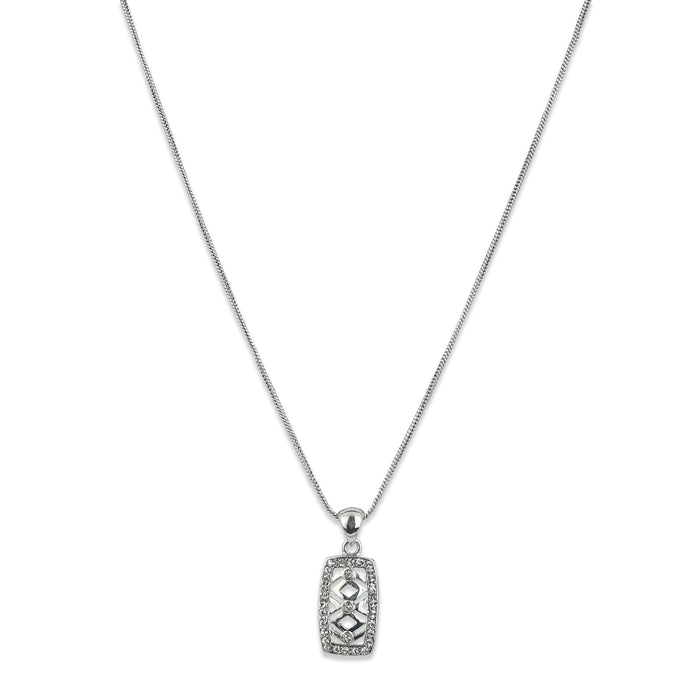 Diamante Pendant Set