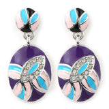 purple butterfly set