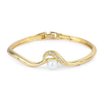 Estele Gold Plated Pearl Bracelet for women