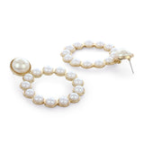 RETRO PEARL EARRINGS