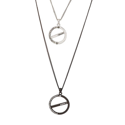 Estele 24 kt Multi Layer Necklace Set for Women & Girls