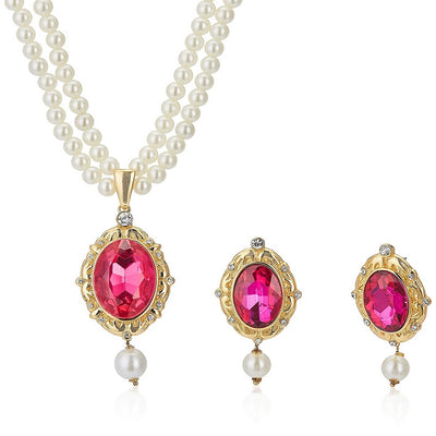 Estele Trendy and Fancy Fashion Jewellery Design Necklace Set for Women