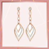 Two tone Dangle & Drop Earrings