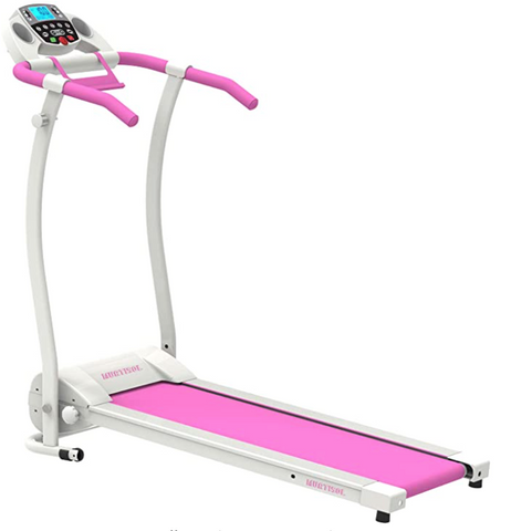 Home Gym Pink Compact Treadmill