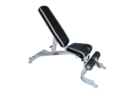 FORCE USA FLAT/INCLINE/DECLINE BENCH + ATTACHMENTS