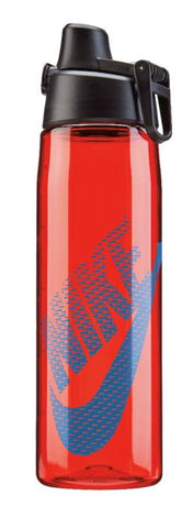 Nike Core Hydro Flow Graphic Water Bottle 24oz Sport Red/Photo Blue