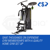 Multi Station Home Gym With Punching Bag