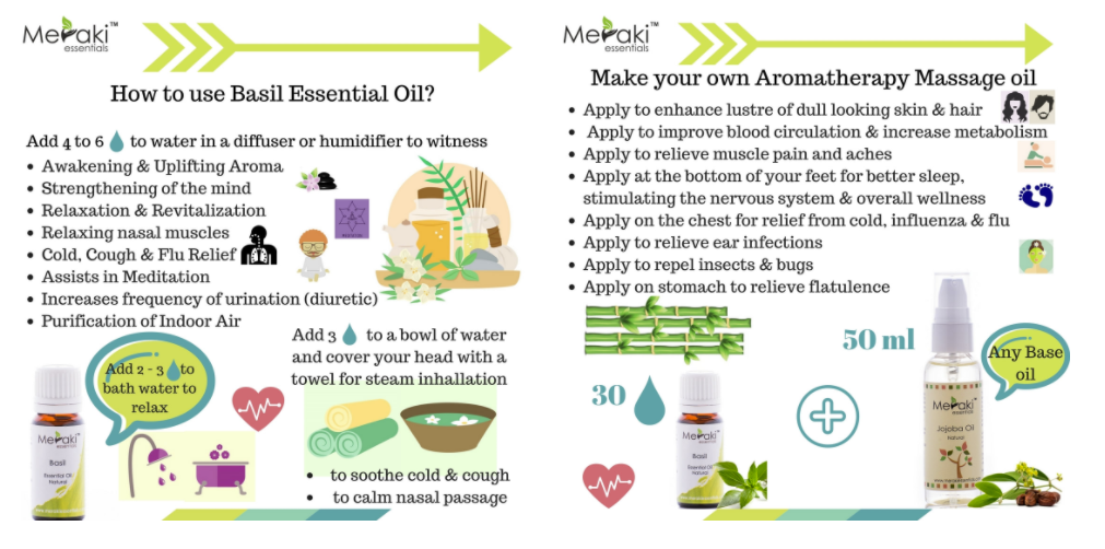 HOW TO USE BASIL ESSENTIAL OIL?