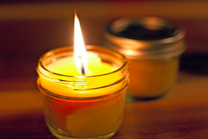 100%  Natural Handmade Beeswax Candles