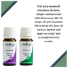 Acne & Dandruff Essential Oil Set - Lavender Essential Oil (10 ml) & Tea Tree Essential Oil (10 ml)