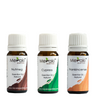 Active Essential Oil Combo - Nutmeg Essential Oil (10 ml), Frankincense Essential Oil (10 ml) & Cypress Essential Oil (10 ml)