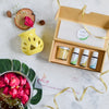 Gift Pack - 1 Beeswax Jar Candle, Set of 3 100% Pure & Natural Essential Oils (10 ml) & a Ceramic Diffuser