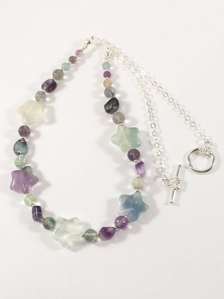 Fluorite Star Necklace