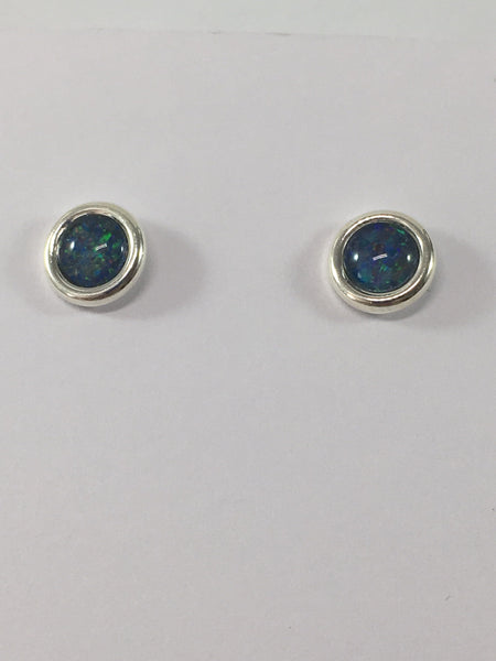 Gemstone Stud Earrings