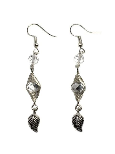 Herringbone Sparkle Earrings