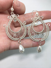 Handcrafted Shell Pearl Earrings