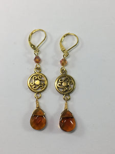 Oriental Drop Earrings