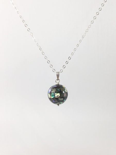 Abalone Ball Necklace