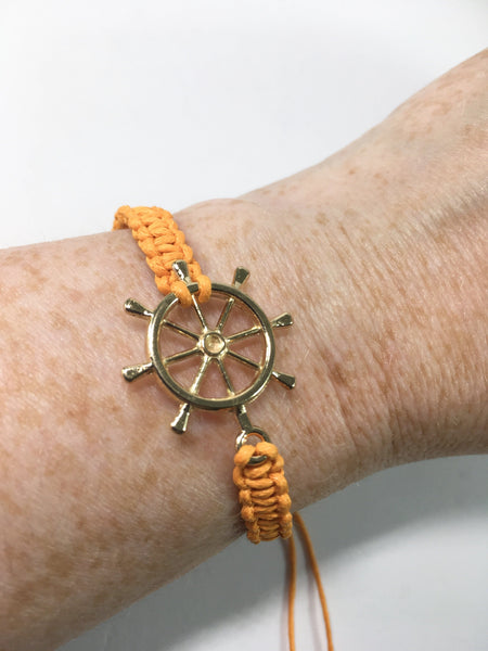 Nautical Macrame Bracelet