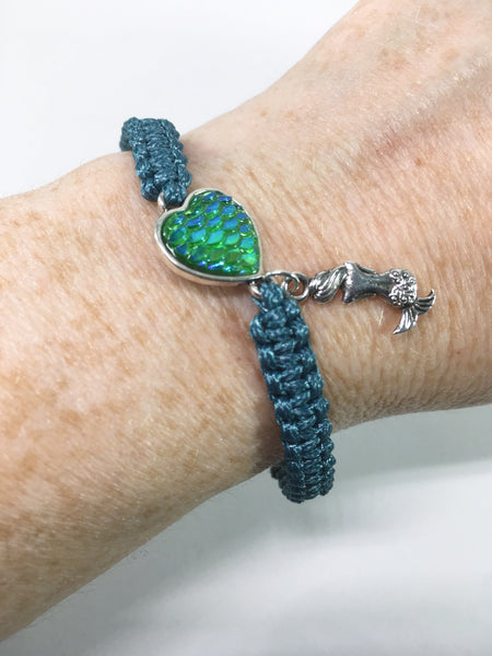 Macrame Mermaid Bracelet