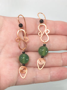Figure Of Eight Earrings