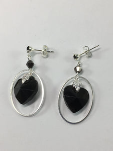 Captured Heart Earrings
