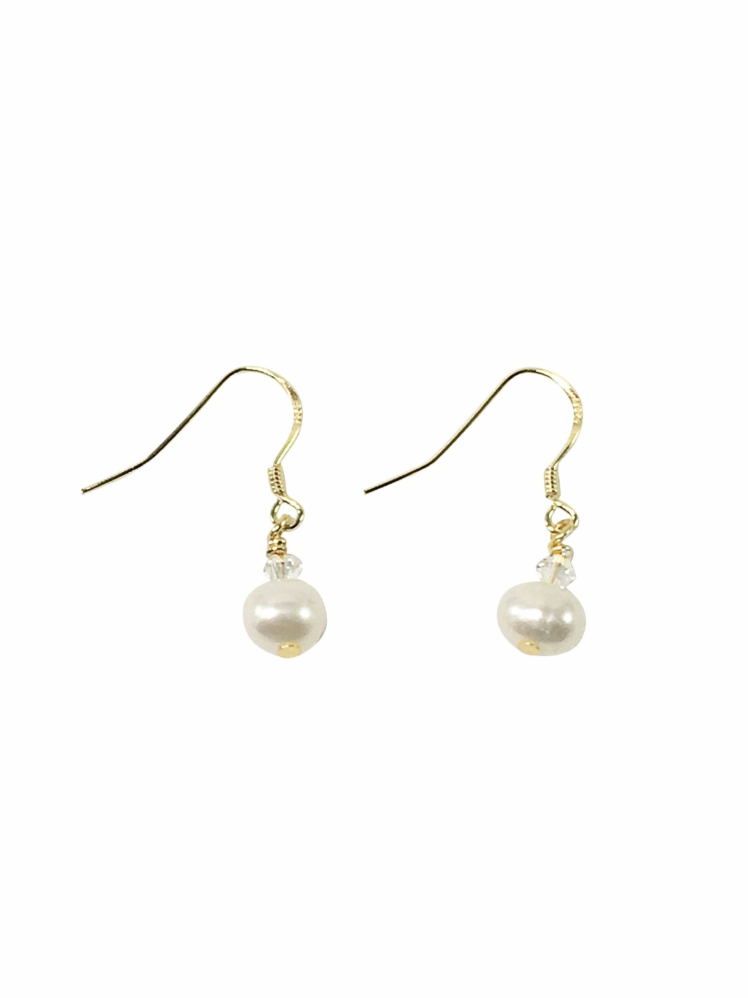 Handmade Sterling Silver Earrings With Freshwater Pearl