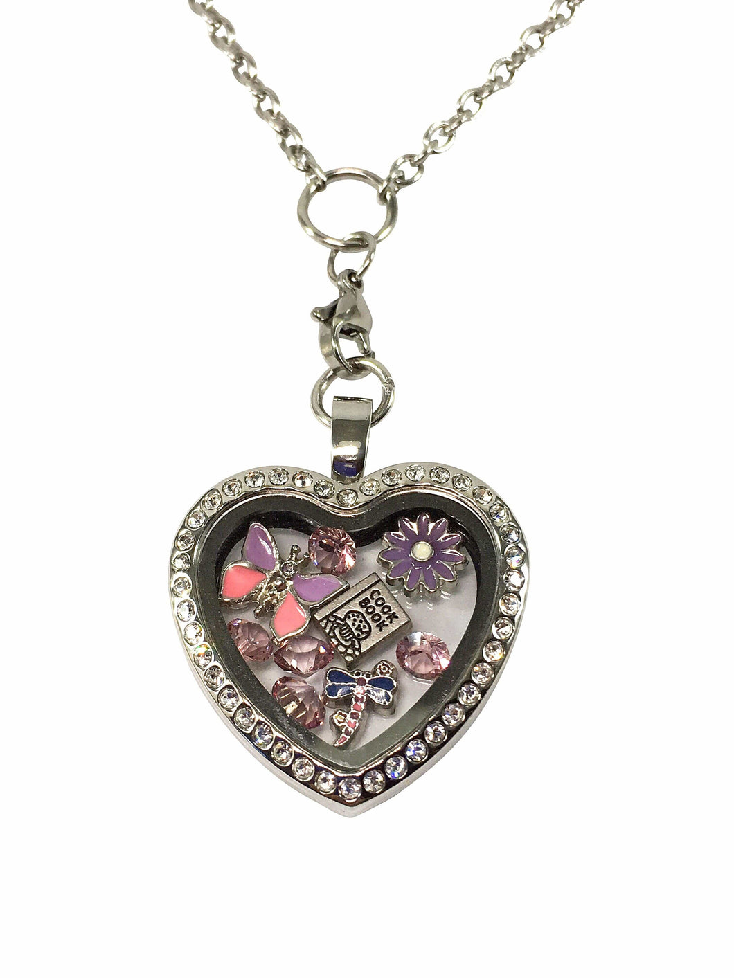 Stainless Steel Heart Locket