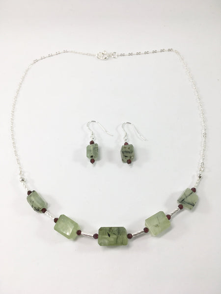Gemstone Necklace Set