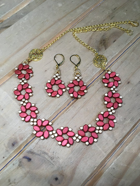 Beaded Posy Set