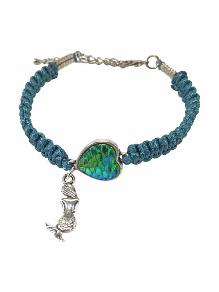 Mermaid Macrame Bracelet