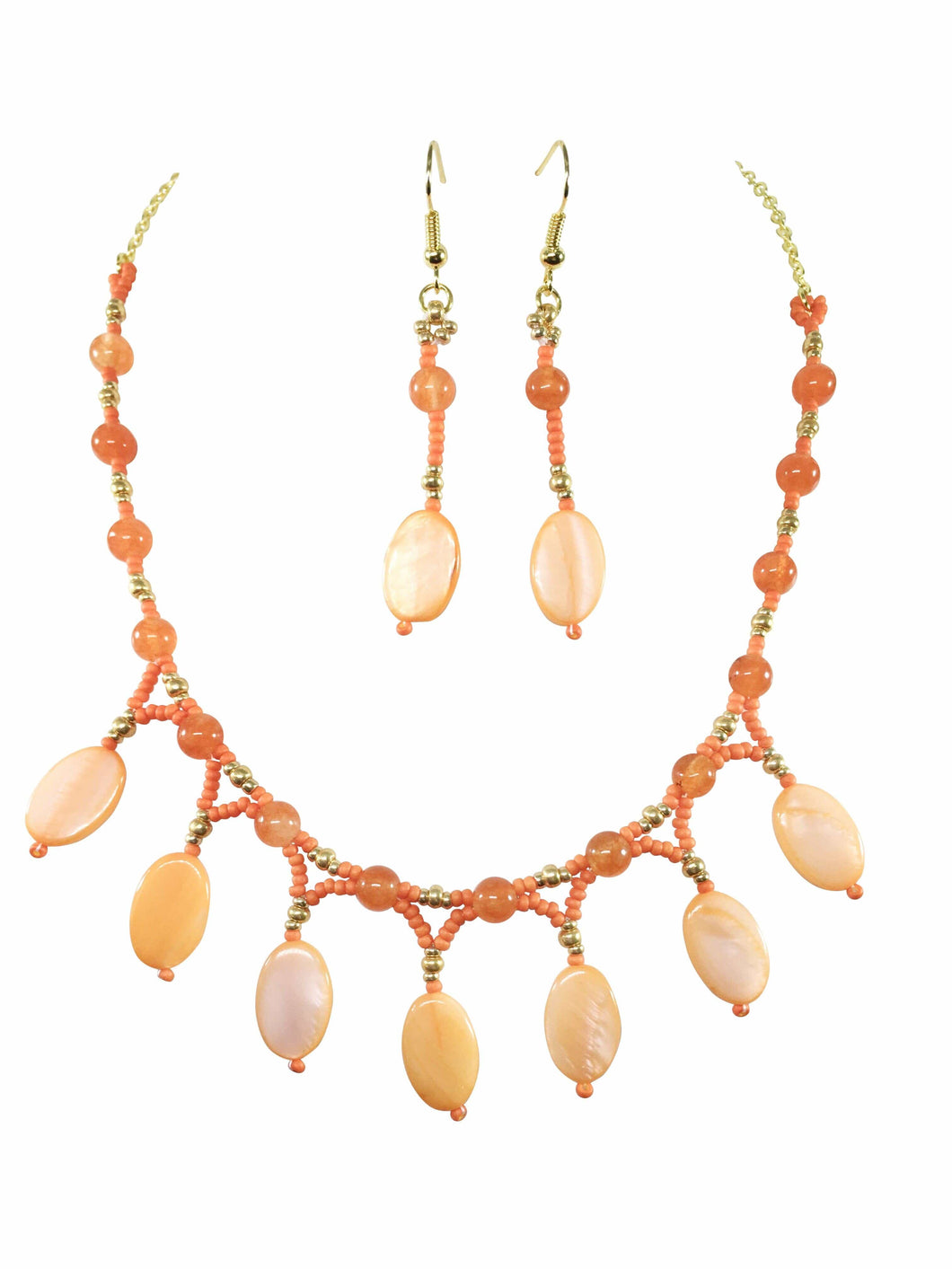 Sunburst Necklace Set