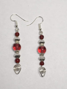 Victorian Style Drop Earrings