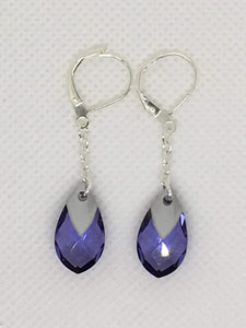 Swarovski Pear Drop Earrings