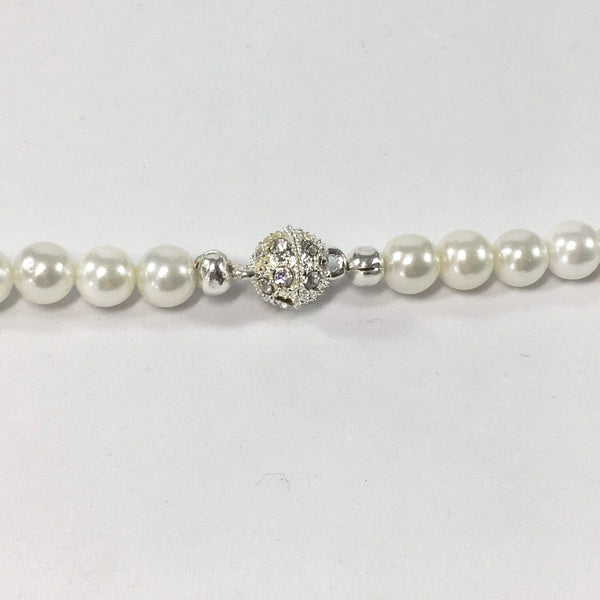 Shell Pearl Bridal Necklace Clasp