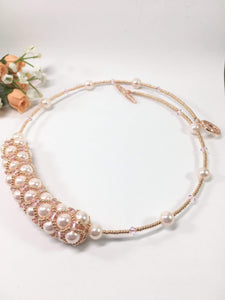 Handmade Pearl Bridal Necklace
