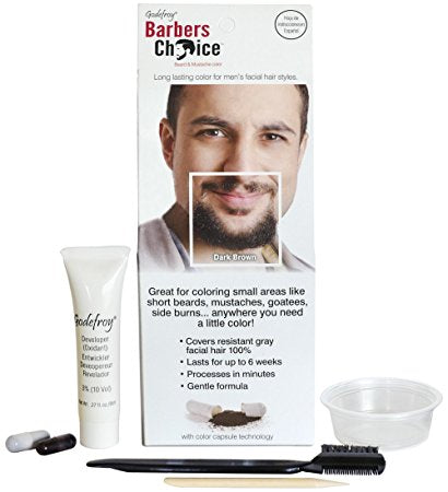 Barber's Choice Beard and Moustache Colour