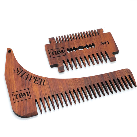 Comb and Shaper Set