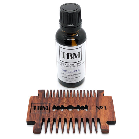 Artisanal Oil and Comb Kit