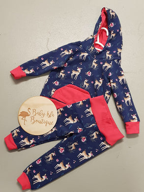 Hoodie and pants 2pc set