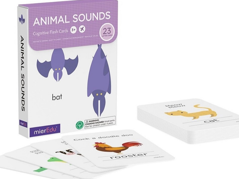 Animal Sounds - Cognitive Flash Cards