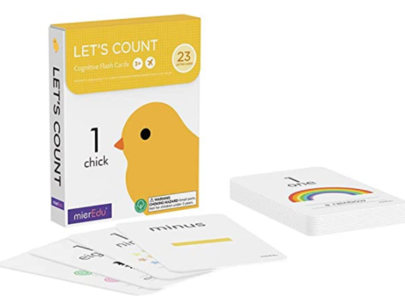 Let's Count · Cognitive Flash Cards
